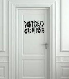 Aus der The Walking Dead tot im inneren Wand von ValueVinylArt
