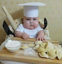 me when i cook: sorry momma... but im having fun!