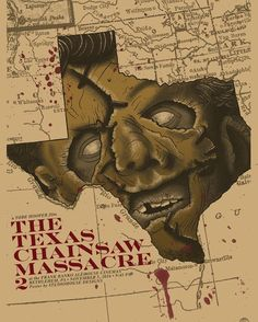 The Texas Chainsaw Massacre 2 by Studiohouse Designs