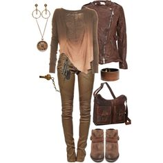 """Post-Apocalypse Fashion"" by maggie-johnston on Polyvore"