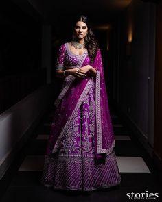 Wedding Lehenga Designs, Lehenga Wedding, Designer Bridal Lehenga, Wedding Dress, Half Saree Designs, Bridal Blouse Designs, Indian Fashion Dresses, Indian Outfits, Ethnic Outfits