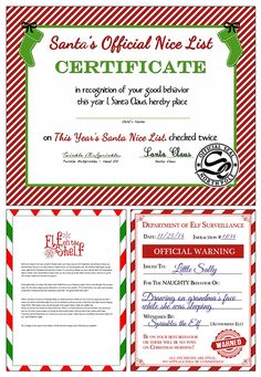 FREE Elf on the Shelf Printables for Christmas!