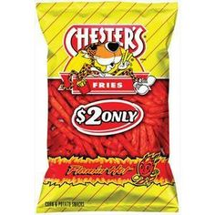 Chesters Hot Fries <3. I'll eat the whole bag.