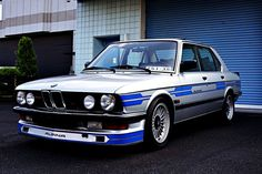 Learn more about Not Subtle: 1982 Alpina on Bring a Trailer, the home of the best vintage and classic cars online. Bmw E28, Bmw Alpina, Bmw Vintage, Bmw Autos, Old School Cars, Bmw 5 Series, Rally Car, Classic Cars Online, Bmw Cars