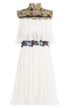 Giambattista Valli Embroidered Silk Dress