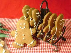 Gingerbread Cookies, Galletas de Jengibre