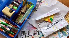 Tvorenie zbalené na cesty Kids Crafts, Montessori, Office Supplies, Baby Crafts