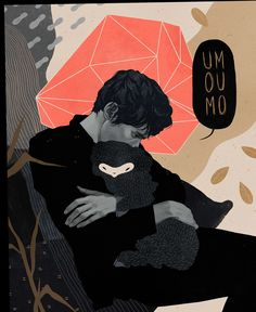 Illustrations and People I Know by Ana Godis #illustration