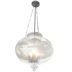 1stdibs | Koch & Lowy   Pretty pendent   Is it too similar to the fixture over the table