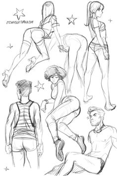 nsfw-ish butts and stuff *