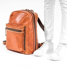 Fancy - Leather Backpack
