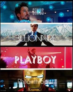 Robert Downey Jr. as Tony Stark, what isn't there to love?!