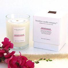 Brooklyn Candle Company Sabbatical Denpasar (Bali ylang yland and mandarine) Candle, $16, now featured on Fab.
