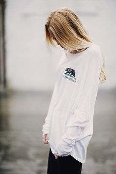 "Love love ""Cali republic "" shirts with the cute bear:) i already own one. This is cute"