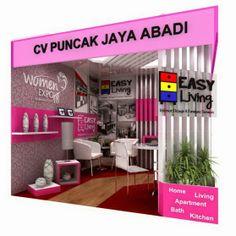 EASY LIVING INDONESIA - Interior Desain & Furniture: DESAIN BOOTH PAMERAN EASY LIVING INDONESIA @ WOMEN...