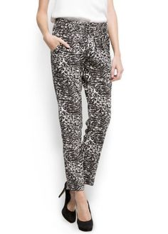 Mango Women`s Tapered Trousers $29.99