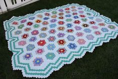 The Grandmother of Hexagon Quilts - Diary of a Quilter - a quilt blog