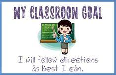 Classroom Goals Gallery