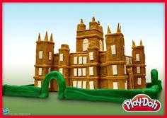 Downton Abbey and the Iron Throne look good in Play-Doh. So do the rest of the Emmy nominees for 'Best Drama Series. Emmy Nominees, Best Dramas, Iron Throne, Air Dry Clay, Play Doh, Drama Series, Downton Abbey, Stuff To Do, Rest