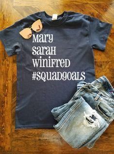 Sanderson Sister Squadgoals / Hocus Pocus Shirt / Halloween