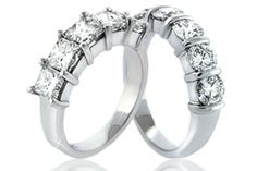 WeddingBandsWorld.com has a beautiful array of Diamond Anniversary Rings in varying price ranges and designs to meet the needs and budget of any customer. Of all Diamond Anniversary Rings are instantly recognizable. These rings are truly magnificent.