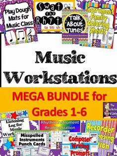 http://www.teacherspayteachers.com/Product/Music-Workstations-MEGA-Bundle-1292712
