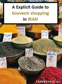 An Explicit Guide to Souvenir Shopping in Iran