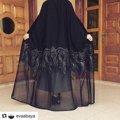 "91 Likes, 13 Comments - Do Buy Abaya (@do_buy_abaya) on Instagram: ""Gosh Cantik Nya !! .. Hope can dream of the abaya . Good Night . """