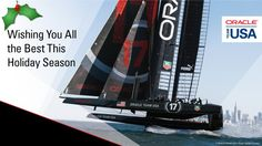 ORACLE TEAM USA would like to wish all of our fans and followers a very happy holiday season.