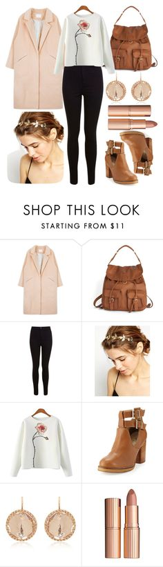 """""""5893"""" by gabipolyvore92 ❤ liked on Polyvore featuring Miss Selfridge, ASOS, Seychelles, Larkspur & Hawk and Charlotte Tilbury"""
