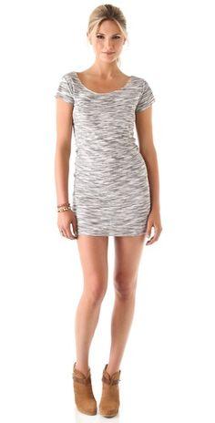 Nation LTD Amalfi Dress / love this with the Rag & Bone booties!