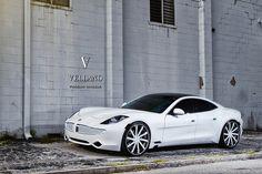"Fisker Karma | Vellano Forged Wheels | VTV 24"" concave"