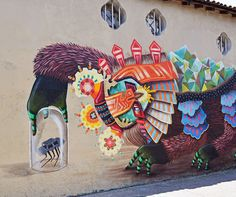 Street Art From Curiot On The Streets Of Mexico City.