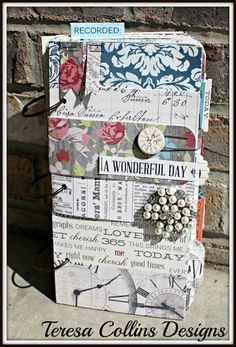 A Wonderful Day COVER    Love Teresa Collins - beautiful on the inside as well as the out...