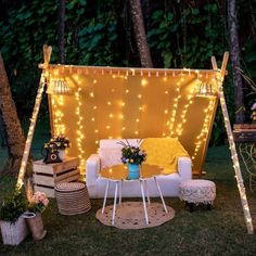 Unique Bridal Seat Ideas Trending This Wedding Season! Wedding Chair Decorations, Stage Decorations, Wedding Chairs, Wedding Stage, Home Wedding, Wedding Ceremony, Wedding Ideas, Forest Wedding, Wedding Planning