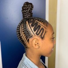 Hi ladies. Are you looking for the best hair braiding styles that will make you beautiful and classy in any gathering. You are at the right place to make a choice of hairstyle that will look appealing to you. Box Braids Hairstyles, Toddler Braided Hairstyles, Toddler Braids, Lil Girl Hairstyles, Braids For Kids, My Hairstyle, Cool Hairstyles, Black Girl Braids, Braids For Black Hair