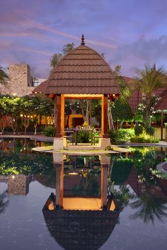 Have you experienced or felt what it's like to enjoy innocent sunrise or sunset moments at Ananta Spa & Resorts Gazebo coffee.