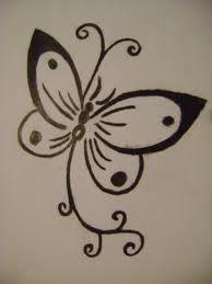 Henna butterfly
