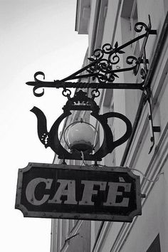 Cafè | Signage
