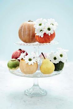 Cute flower 'vase' idea