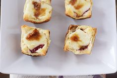 "Hey you little party animal, if you have just been asked to bring an appetizer to your next shindig, you should, in your heart, be saying right now ""move over Brie En Croute, these mini versions ar..."