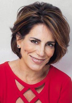 Cabelo de Gloria Pires, a Beatriz da novela Babilônia - Corte e cor -Portal Tudo Aqui
