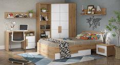 Corner Desk, Home Goods, Teak, Shelves, Furniture, Home Decor, Design, Products, Brown