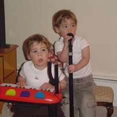 When Max and Harvey were younger!!❤