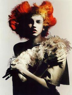 Full Bloom (Vogue Italia) Paolo Roversi - Photographer Jacob K - Fashion Editor/Stylist Julien d'Ys - Hair Stylist Julien d'Ys - Makeup Artist Andrew Tomlinson - Set Designer Typhaine Kersual - Manicurist Molly Bair - Model