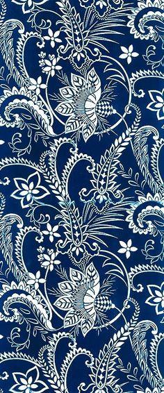 Blue and white paisley background pattern. Motifs Textiles, Textile Prints, Textile Patterns, Lino Prints, Block Prints, Batik Pattern, Paisley Pattern, Pattern Art, India Pattern