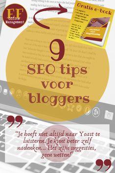 9 SEO tips voor bloggers | EF Office Management Auto Entrepreneur, Seo Tips, Office Management, Marketing, Blog, Teamwork, Blogging