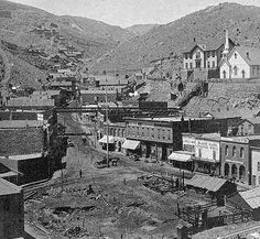 Blackhawk, Colorado in the Lots of gold mined here. Aspen, Old West Town, Old West Photos, Into The West, Central City, American Frontier, Le Far West, Interesting History, Ghost Towns