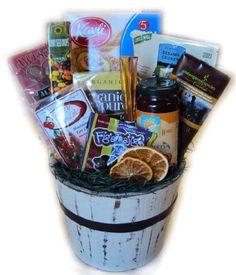 Heart healthy birthday gift basket super deluxe heart healthy low sodium heart healthy birthday gift basket negle Gallery