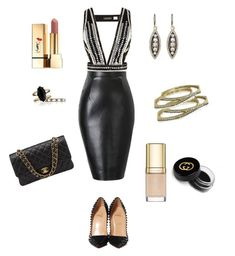 """Showstopper"" by bethany-mcdowell on Polyvore featuring sass & bide, Chloe + Isabel, Christian Louboutin, Gucci, Yves Saint Laurent, Chanel and Dolce&Gabbana"